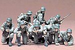 German Panzer Grenadiers Soldiers -- Plastic Model Military Figure Kit -- 1/35 Scale -- #35061