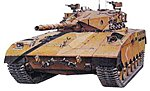 Israeli Merkava Main Battle Tank -- Plastic Model Military Vehicle Kit -- 1/35 Scale -- #35127