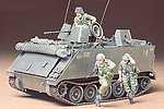 US M113 ACAV Support Vehicle -- Plastic Model Military Vehicle Kit -- 1/35 Scale -- #35135