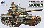 US M60A3 105mm Gun Tank -- Plastic Model Military Vehicle Kit -- 1/35 Scale -- #35140