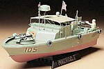 US Navy PBR31 MkII Pibber Boat -- Plastic Model Military Ship Kit -- 1/35 Scale -- #35150