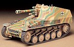 German Howitzer Wespe Tank -- Plastic Model Military Vehicle Kit -- 1/35 Scale -- #35200