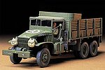 US 2.5 Ton 6x6 Cargo Truck -- Plastic Model Military Vehicle Kit -- 1/35 Scale -- #35218