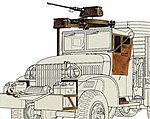 US 2.5-Ton 6x6 Cargo Accessory Set -- Plastic Model Military Diorama Kit -- 1/35 Scale -- #35231
