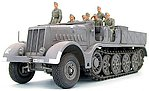 German 18 Ton Half Track Famo -- Plastic Model Military Vehicle Kit -- 1/35 Scale -- #35239