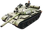 Soviet Tank T-55 -- Plastic Model Military Vehicle Kit -- 1/35 Scale -- #35257