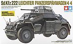 German Armored Car SdKfz 222 -- Plastic Model Military Vehicle Kit -- 1/35 Scale -- #35270