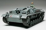 German Sturmgeschutz III Ausf B Tank -- Plastic Model Military Vehicle Kit -- 1/35 Scale -- #35281