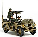 US Utility Truck M151A2 Grenada 1983 -- Plastic Model Military Vehicle Kit -- 1/35 Scale -- #35332