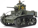 US Light Tank M3 Stuart Late Production -- Plastic Model Military Vehicle Kit -- 1/35 -- #35360