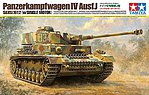 German Pz.Kpfw IV Ausf.J with Single Motor -- Plastic Model Military Vehicle Kit -- 1/16 -- #36211