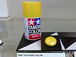 Spray TS-97 Pearl Yellow 100ml -- Hobby and Model Lacquer Paint -- #85097