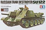 Russian Tank Destroyer SU-122 w/Master Set -- Plastic Model Military Kit -- 1/35 Scale -- #89798
