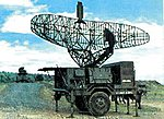 Hawk MIM-23B AN/MPQ-35 Target Acquisition Radar -- HO Scale Model Roadway Vehicle -- #87079