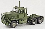 M915 Conventional 3-Axle Semi Tractor -- HO Scale Model Roadway Vehicle -- #90051