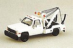 American Trucks Chevrolet w/Wrecker Body White -- HO Scale Model Railroad Vehicle -- #900721