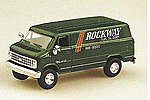 Chevrolet Cargo Van Rockway -- HO Scale Model Railroad Vehicle -- #90075