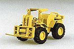 Construction Equipment Fork Lift -- HO Scale Model Railroad Vehicle -- #90094