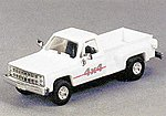 Trucks Chevrolet Pick-Up Stepside 4x4 -- HO Scale Model Railroad Vehicle -- #90115