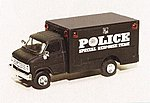 Chevrolet Box Van Police Special Response Team -- HO Scale Model Roadway Vehicle -- #90300