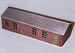 Military Resin Structure Castings Army Barracks -- HO Scale Model Railroad Building -- #99015