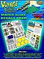 Flying Sub Decal Set for MOE -- Science Fiction Plastic Model Decal -- 1/32 Scale -- #105