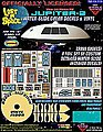LiS- Jupiter 2 Spaceship Decal & Vinyl Set for MOE -- Science Fiction Model Decal -- 1/35 -- #116