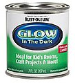 1/2 Pint Can Glow-In-The-Dark Luminous Paint -- Hobby and Model Paint Supply -- #214945
