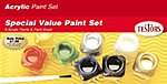 Acrylic Value Finishing Kit -- Hobby and Model Paint Set -- #9196