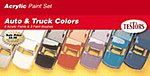 Acrylic Auto & Truck Finishing Kit -- Hobby and Model Paint Set -- #9197