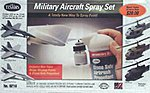 Military Aircraft Spray Set -- Hobby and Model Paint Set -- #9216