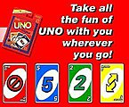 UNO Card Game -- Card Game -- #41001