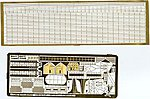 Bismarck German Battleship Detail Set -- Plastic Model Ship Accessory -- 1/350 Scale -- #3512