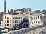 Quality Meat Packers Kit -- N Scale Model Railroad Building -- #10603