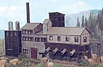 Eagle River Mine Kit -- N Scale Model Railroad Building -- #10902