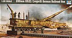German Railway Gun K5(E) Leopold -- Plastic Model Military Weapon -- 1/35 Scale -- #00207