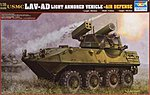 USMC LAV-AD Light Armored Air Defense Vehicle -- Plastic Model Kit -- 1/35 Scale -- #00393