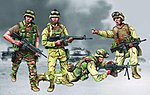 US Marine Corps Iraq 2003 Figure Set (4) -- Plastic Model Military Figure -- 1/35 Scale -- #00407