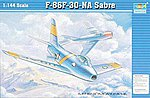 F86F30 Saber Jet -- Plastic Model Airplane -- 1/144 Scale -- #01320