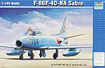 F86F40 Saber Jet -- Plastic Model Airplane -- 1/144 Scale -- #01321
