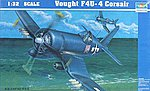 Vought F4UF Corsair -- Plastic Model Airplane -- 1/32 Scale -- #02222