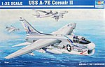A7E Corsair II Aircraft -- Plastic Model Airplane -- 1/32 Scale -- #02231