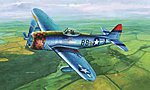 P47D Thunderbolt Late Version Fighter -- Plastic Model Airplane -- 1/32 Scale -- #02264