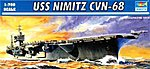 USS Nimitz CVN68 Aircraft Carrier 1975 -- Plastic Model Military Ship Kit -- 1/700 Scale -- #05714