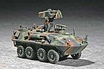 USMC LAV-AT Light Armored Anti-Tank Vehicle -- Plastic Model Military Vehicle Kit -- 1/72 -- #07271