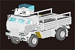 M1078 LMTV Cargo Truck with Armored Cab -- Plastic Model Military Vehicle -- 1/35 Scale -- #1009