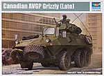Canadian Grizzly 6x6 Armored Personnel Carrier -- Plastic Model Military Kit -- 1/35 Scale -- #1505