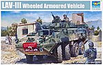 LAV-III 8x8 Kodiak Light Armored Vehicle -- Plastic Model Military Vehicle -- 1/35 Scale -- #1519