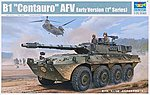 Italian B1 Centauro Tank Destroyer (1st series) -- Plastic Model Military Kit -- 1/35 Scale -- #1562