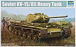Soviet KV-1S/85 Heavy Tank -- Plastic Model Military Vehicle Kit -- 1/35 Scale -- #1567